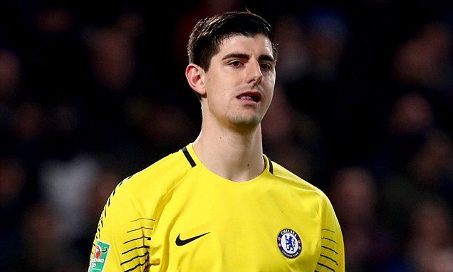 Thibaut Courtois admits he is keen on Real Madrid move