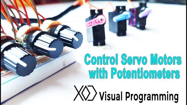 03# Visual Programming XOD | Control the Servo Motors with Potentiometer...