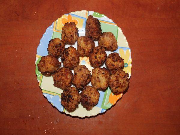 Chiftelute de carne si legume - Bucataria cu noroc