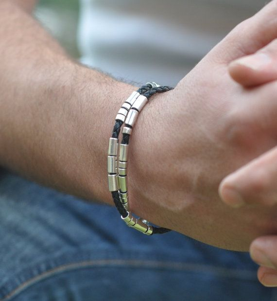 Masculine personnalisé le Code Morse Wrap par undertheroseUK