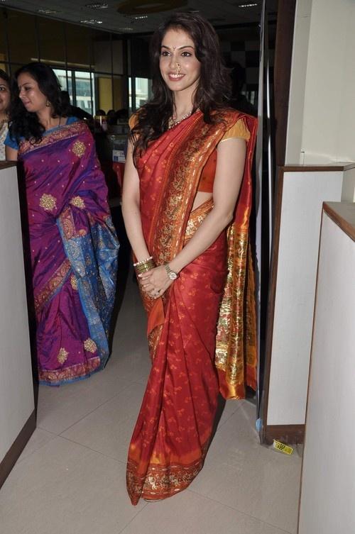 Isha Koppikar's Gudi Padwa celebration at Big FM 92.7 in Mumbai