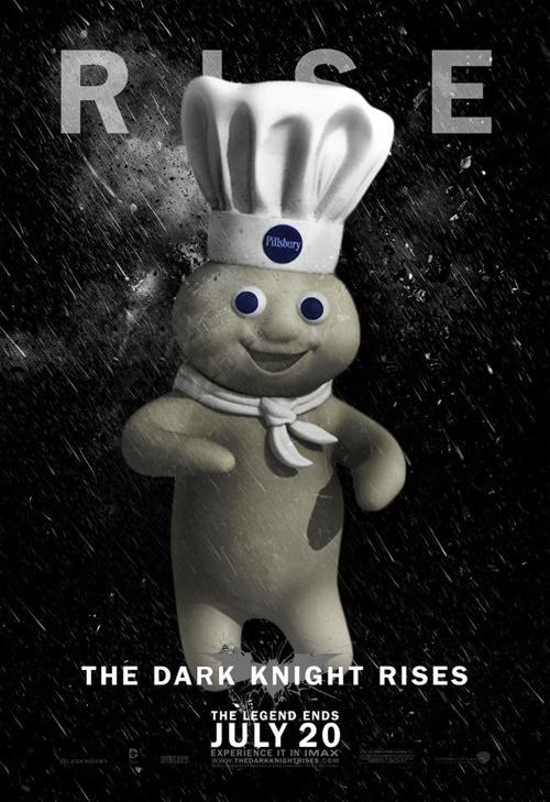 Pillsbury dough boy as the next Batman!