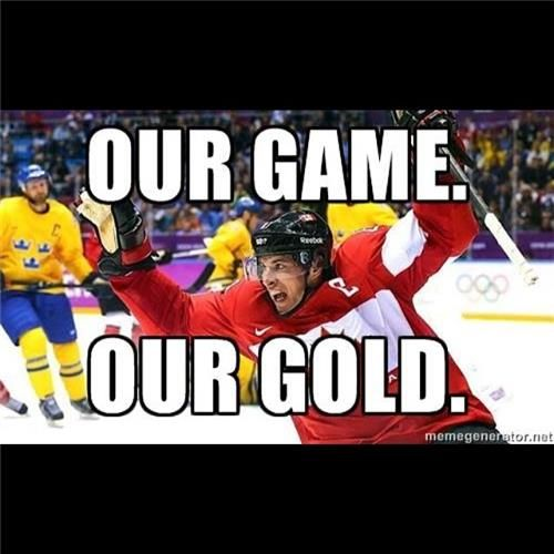 Canada wins GOLD 2014