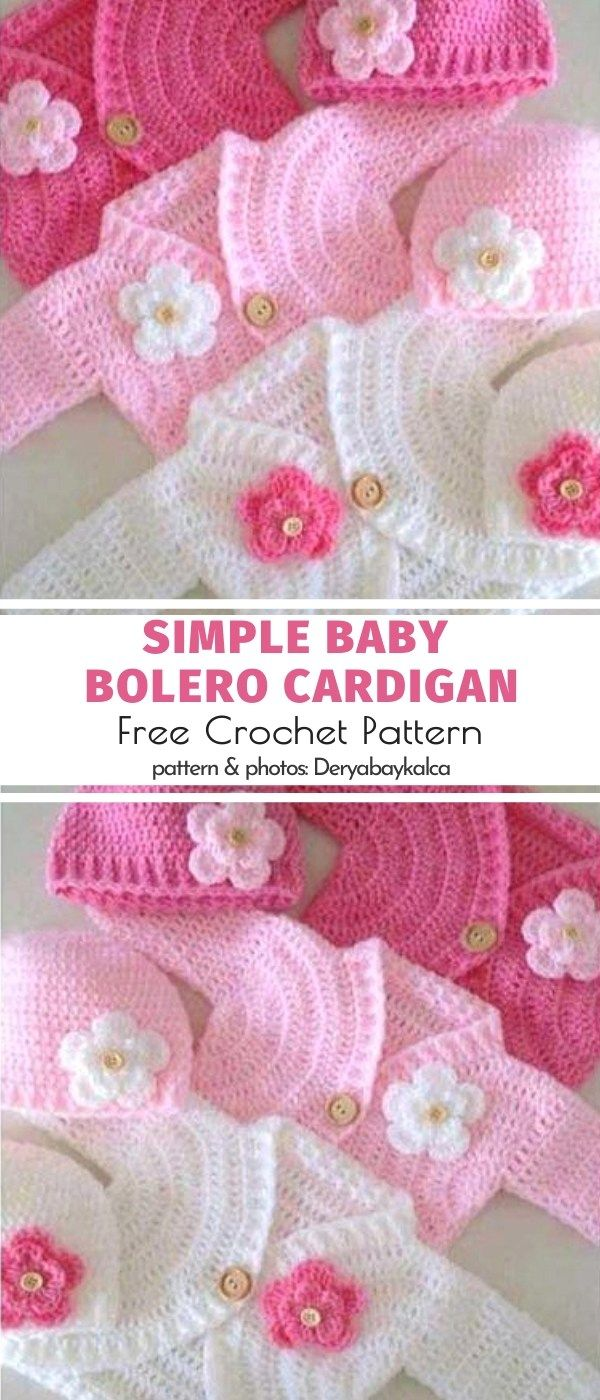 SPRING Ribbon Trimmed Cardigan /& Toddler Dress//Crochet Pattern INSTRUCTIONS ONLY
