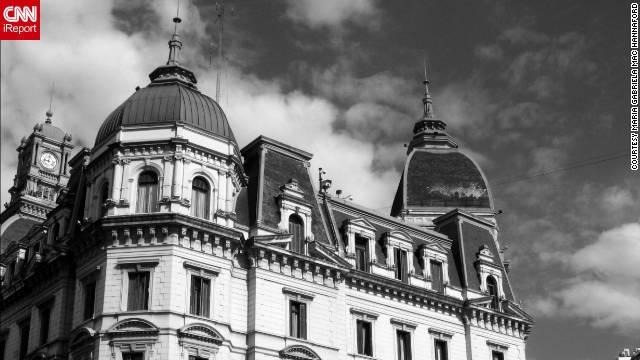 """María Gabriela Mac Hannaford shared this photo of Edificio de la Jefatura de Gobierno de la ciudad in Buenos Aires. """"I love this city and its architecture,"""" she said."""