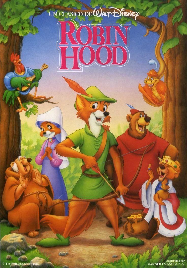 Robin Hood    - Excelente película animada!    - Acción y aventura en todo momento!    - Casi un 5!