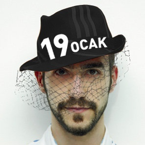 Hat for Hrant Dink, Armenian intellectual  murdered by facisti