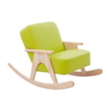 Keinutuoli retro vihreä - Lasten kalusteet 720101 Shop - Eurotoys - Lasten huonekalut online