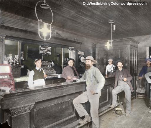 Central City Colorado Bar, 1872