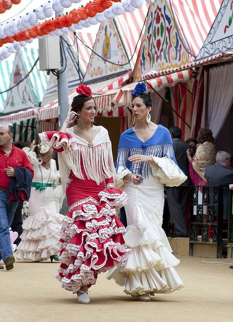 Feria Abril de Sevilla, Spain (by carlosescolastico.com)