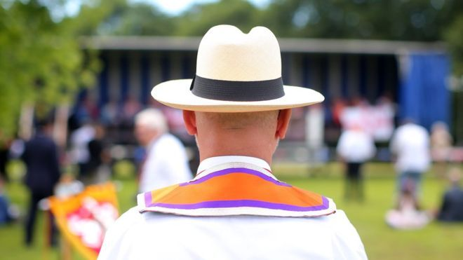 RIP. Orange Order has asked its members to stop using the term 'RIP' to express grief or sympathy after a death.  It said the phrase is unbiblical, un-Protestant, and a form of superstition connected to Catholicism.  RIP is an abbreviation of 'rest in peace' or in Latin, 'requiescat in pace'.