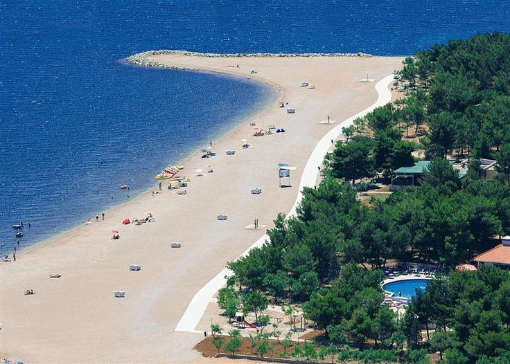 Solaris Camping Resort, located four kilometres from Šibenik, Croatia