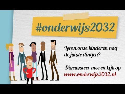 #onderwijs2032 | Onderwijziger! - Oproep tot meer creativiteit en innovatie in het onderwijs |