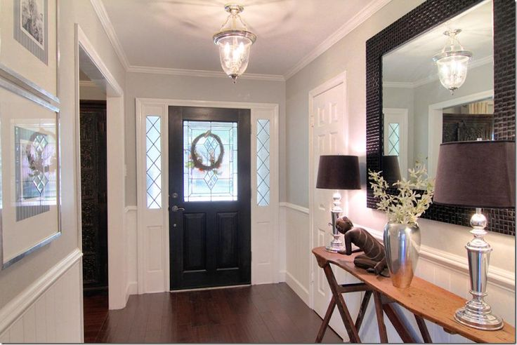 Modern Family Foyer Color : Paint colors the main in kitchen family bath