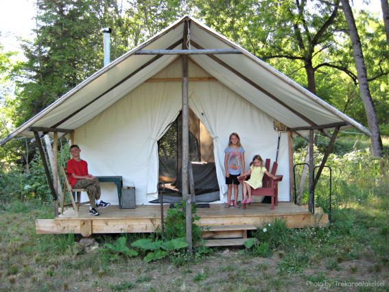 482 best tent tent platform images on pinterest tents for Glamping ideas diy