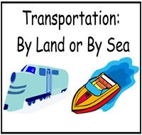 "Filefolderheaven - Same pack as ""People Go""/// Transportation Theme Preschool Activities"