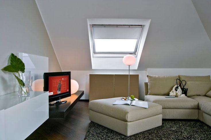 ..per chi nutre titubanze quando si parla di appartamenti mansardati. Guardate qui che meraviglia!!! Un articolo esemplare......... perchè bisogna sempre guardare oltre ;-) #casa #arredamento