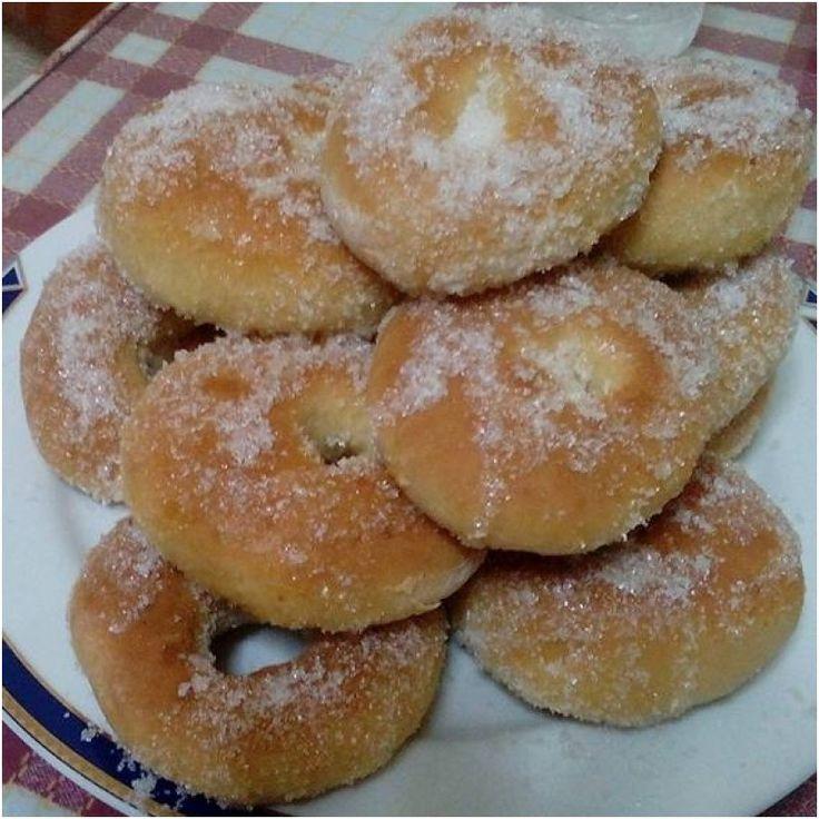 ΜΑΓΕΙΡΙΚΗ ΚΑΙ ΣΥΝΤΑΓΕΣ: Ντόναντς φούρνου !! Πανεύκολα !!!