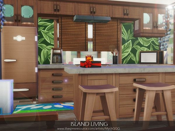 Maxis Match Gameplay Charlotte S Apartment Place At 2b Jasmine Sims House Sims 4 House Design Sims 4 Kitchen