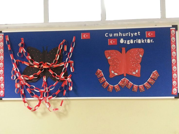 29 ekim cumhuriyet bayrami pano