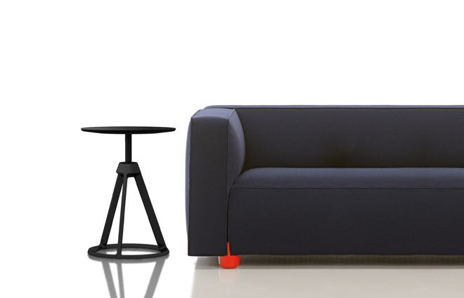 Saturn stool for Classicon and Sofa for Knoll