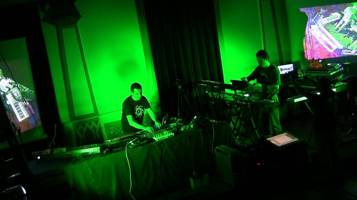 Alba Ecstasy & Nord: Live at the Library concert snapshot.