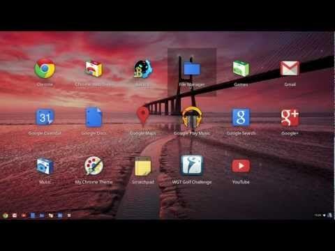 A guided tour of Chrome OS. For more information, visit http://google.com/chromebook.