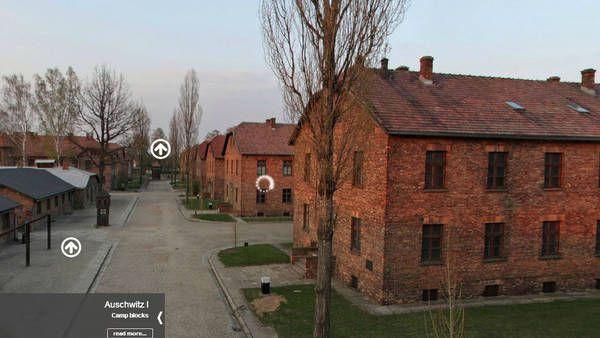 Auschwitz, en un impactante recorrido virtual