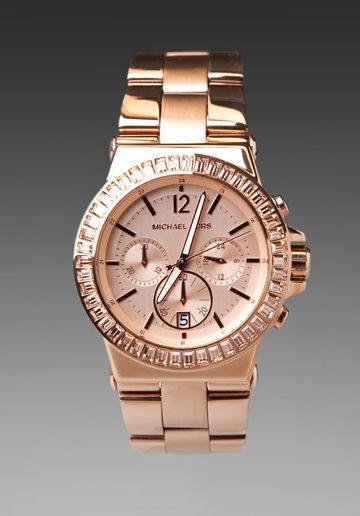 MICHAEL KORS Dylan Watch in Rose Gold at Revolve Clothing - Free Shipping!