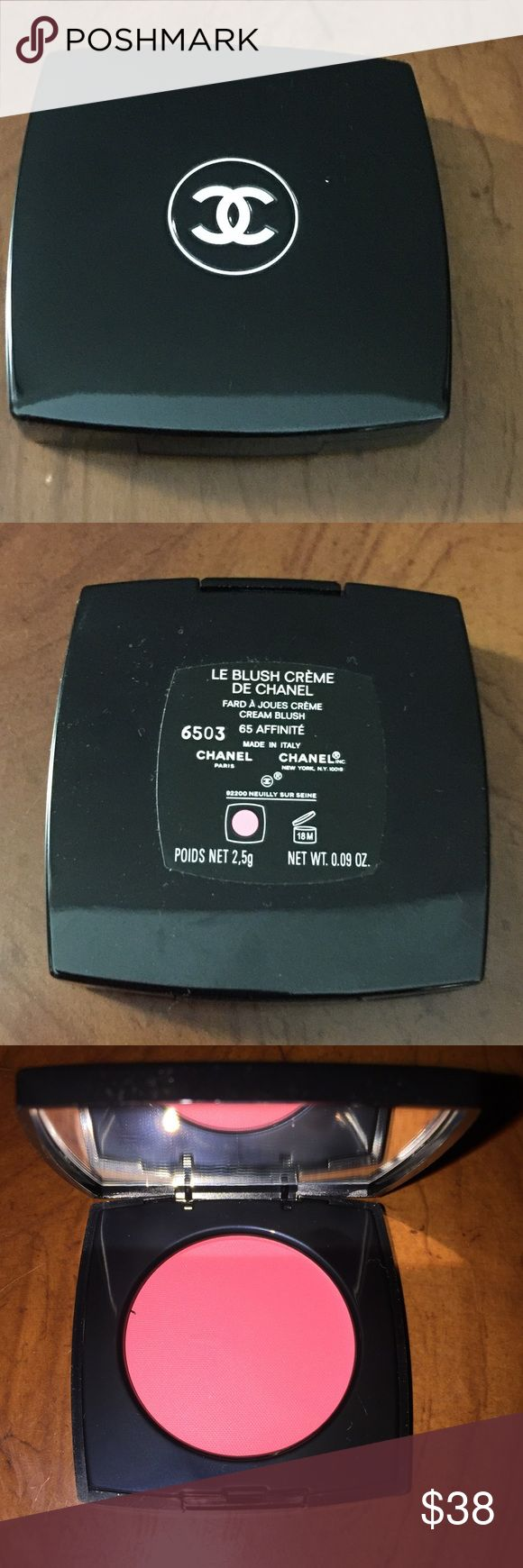 Le Blush Creme De Chanel Creme blush. 65 Affinite is the color. Never used or swatched. Brand new CHANEL Makeup Blush