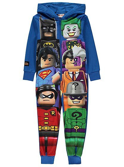 LEGO DC Comics Super Heroes Hooded Onesie, read reviews and buy online at George at ASDA. Shop from our latest range in Kids. Your little superhero will want...