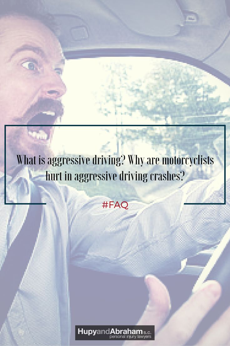 #FAQ - What is aggressive driving? Why are motorcyclists hurt in #aggressive driving #crashes? Find the answers here. #riders #bikers #moto #accidents #motorcycles #WFM #WatchForMotorcycles