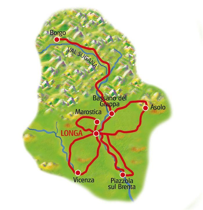 Sternradtouren Italien