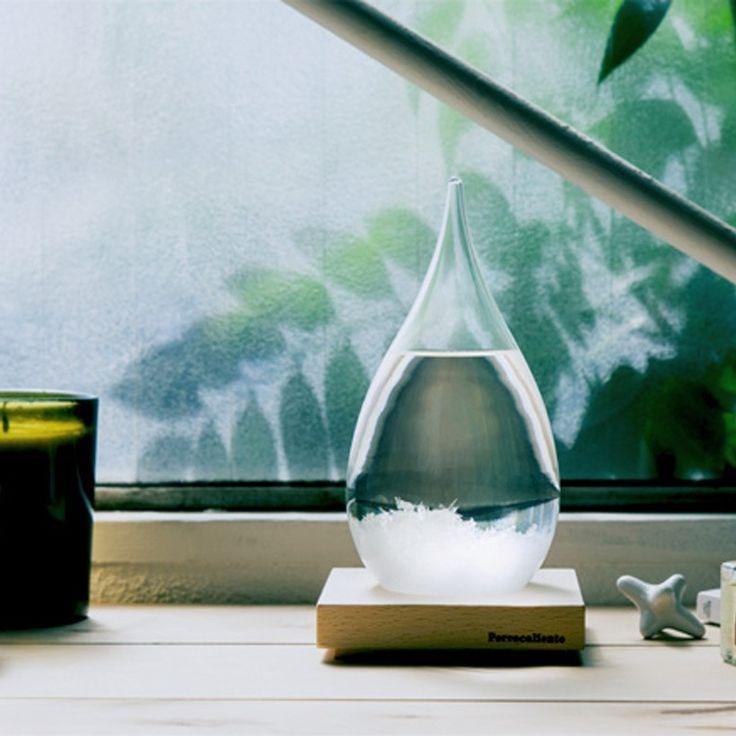 環境の変化で表情を変える結晶を楽しむオブジェ TEMPO DROP(テンポドロップ) | arigatogiving