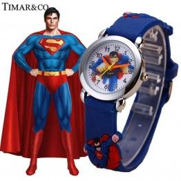 TIMARCO Superman Cartoon Watch