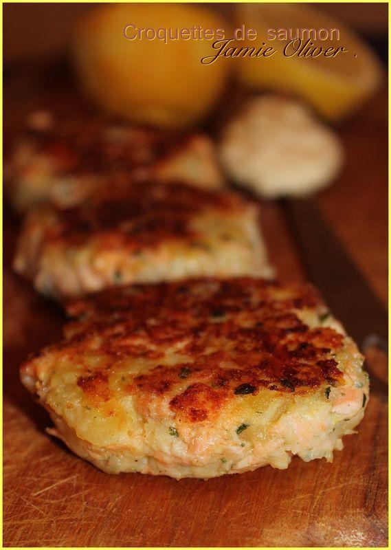Croquettes de saumon (recette de Jamie Oliver)