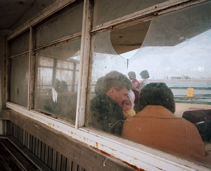 Martin Parr GB. England. New Brighton. From 'The Last Resort'. 1983