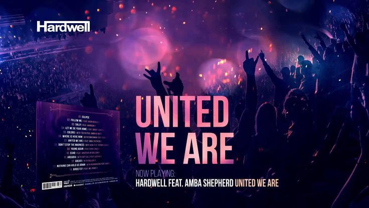 Hardwell just released his #UnitedWeAre album! Make sure you pick it up on Itunes! tsto.co/vd975