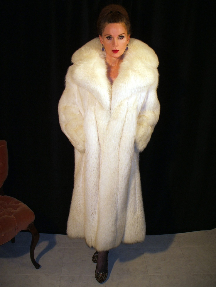 White Fox Fur Coat Coat Nj
