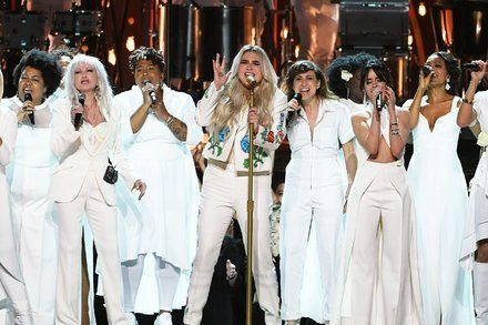 At the Grammy Awards White Roses Paled in Comparison to Kesha Rose