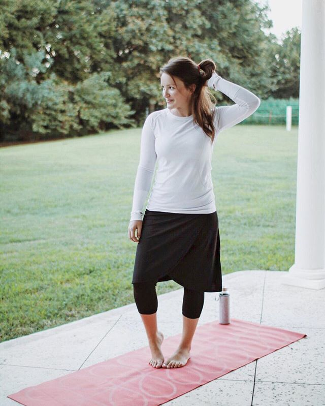 I absolutely love these skirted leggings and would recommend this one to everyone who wants a modest option for activewear! They're also great to swim in.