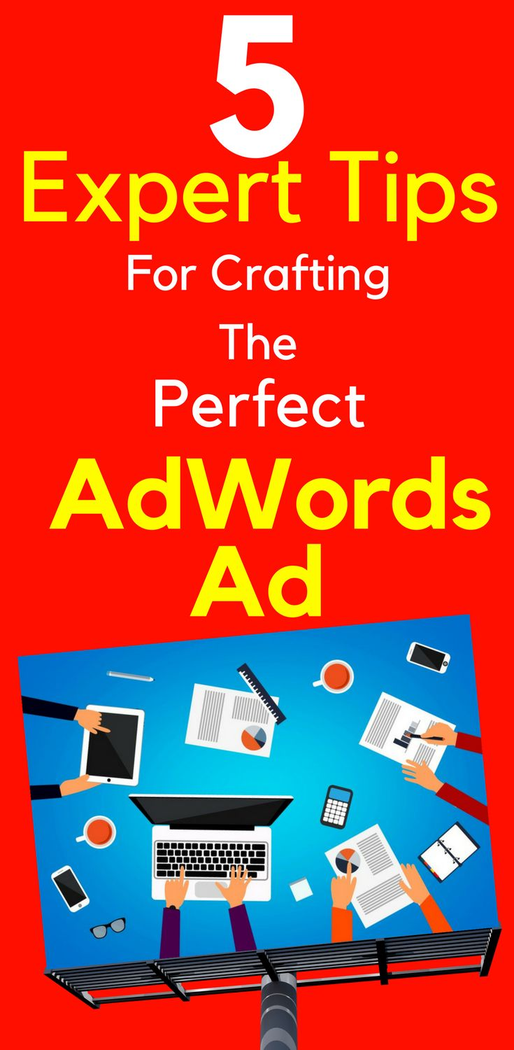 "5 Expert Tips For Crafting The Perfect AdWords Ad Write a great headline that attracts your reader's attention and is relevant to their search. Your #headlines are the most important part of your #text #ads. Without a ""clickable"" headline, your ad will languish and die. Learn more... 5 #Expert #Tips For Crafting The Perfect #AdWords #Ad"