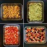 7 Layer Bean Dip Just like mom used to make at home!! Mmm