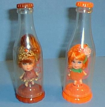 liddle kiddles.  had many types such as lockets, flowers, perfume bottles , scidditlekiddles etc.  my sister Carol had numerous ones.
