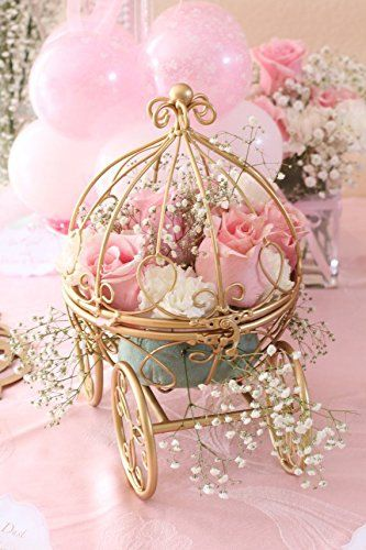 THE ORIGINAL Inspired by Disney's Fairytale Wedding Cinderella's Carriage Coah Pumpkin table centerpiece