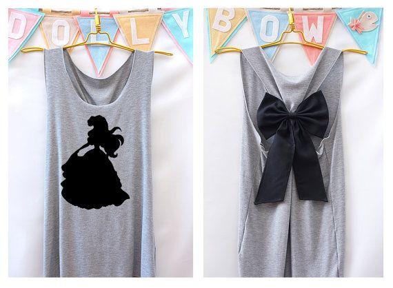 Ariel petite sirène Disney Princesse débardeur par DollysBow
