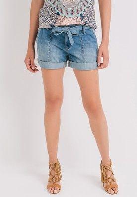 Short en jean Femme Jean moyen