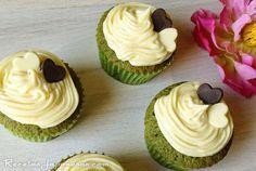 Recetas Japonesas: Cupcakes de té verde en polvo matcha