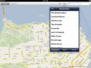 Ipad 2 Tips & Tricks: How to Bookmark Location On Maps