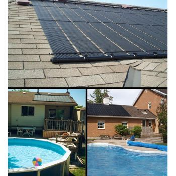 Costco: Solar Works Solar Pool Heater for In-ground or Above-ground Pools |  Garden | Pinterest | Ground pools, Solar